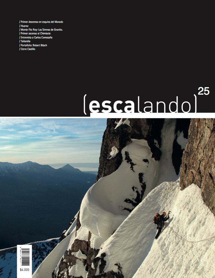 Portada Revista Escalando Ed. n° 25