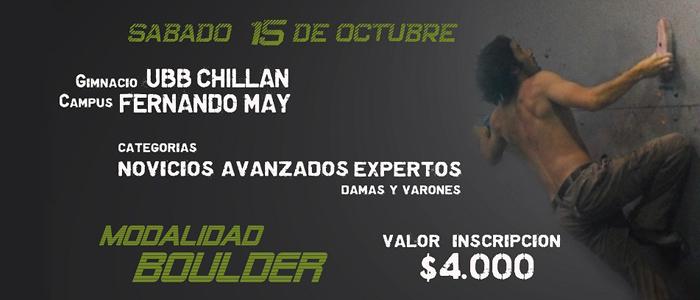 Afiche campeonato Chillán