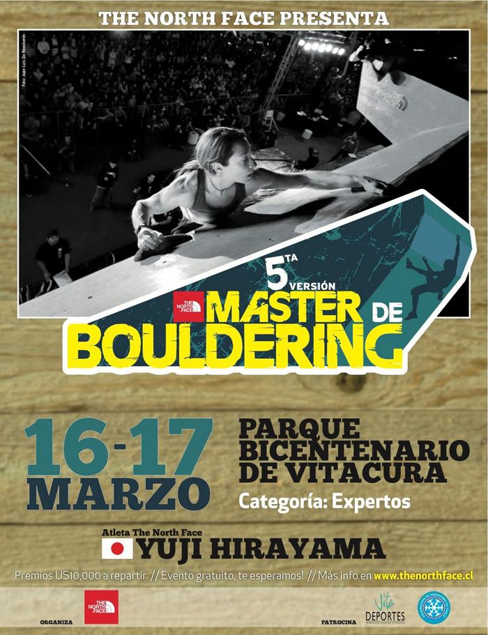 Afiche grande Master Boulder TNF 2012
