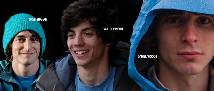 Dave Graham Daniel Woods Paul Robinson
