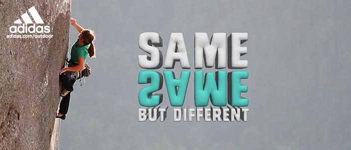 Header same same but different adidas