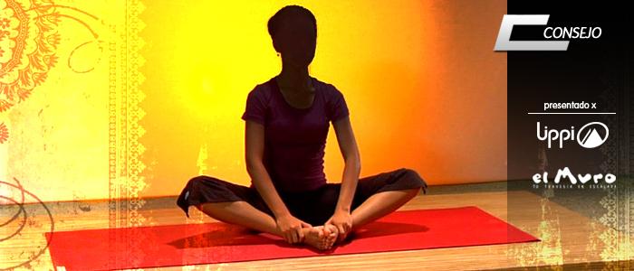 Baddha Konasana yoga escalada