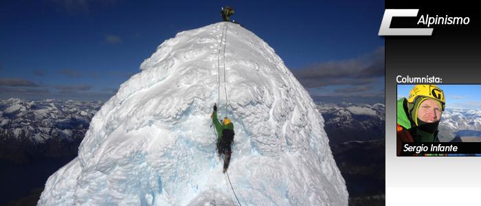 volcan corcovado ascenso escalada alpina