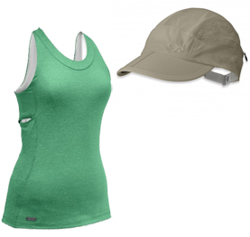 Enchanted Tank y Switchback Cap