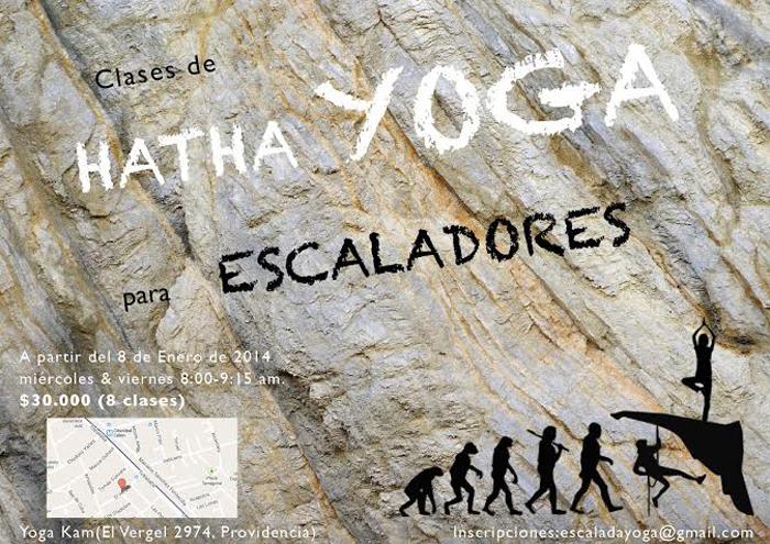 yoga para escaladores
