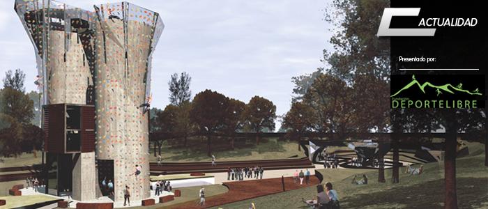 Header proyecto silos escalada parque de los reyes fundacion deporte libre