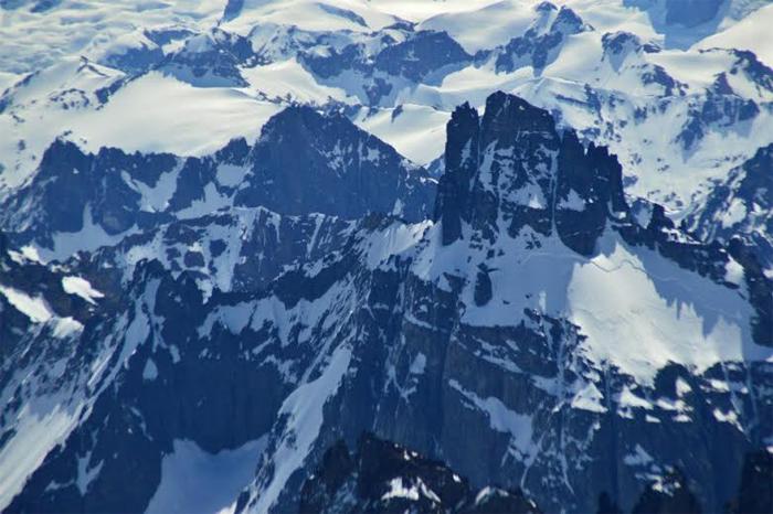 Vista aerea cerro el feo