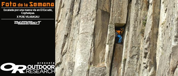 escalada el escudo coyhaique pere vilarasau foto de la semana