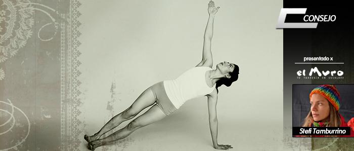 Vasisthasana yoga escalada