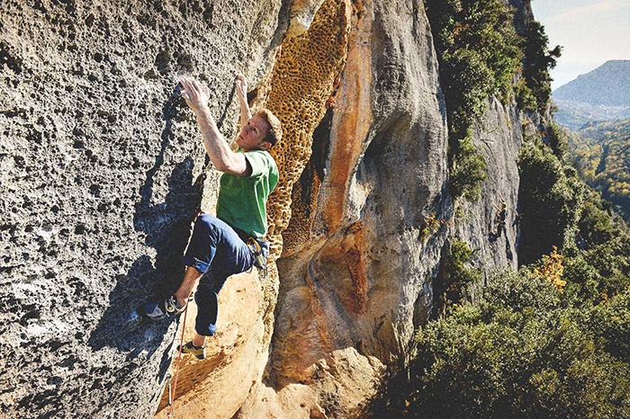 Jackob Schubert Hyena mammut climbing the classics