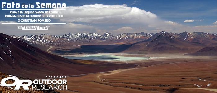 Laguna verde uyuni bolivia -christian romero -foto de la semana chileclimebers or