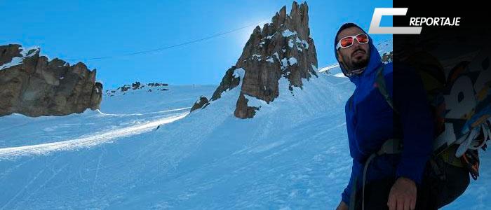 escalada snowboard y highline en santa tere