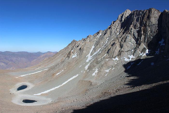 Laguna -Las Embarraditas 4.050 mts  ubicada arriba de Chacay