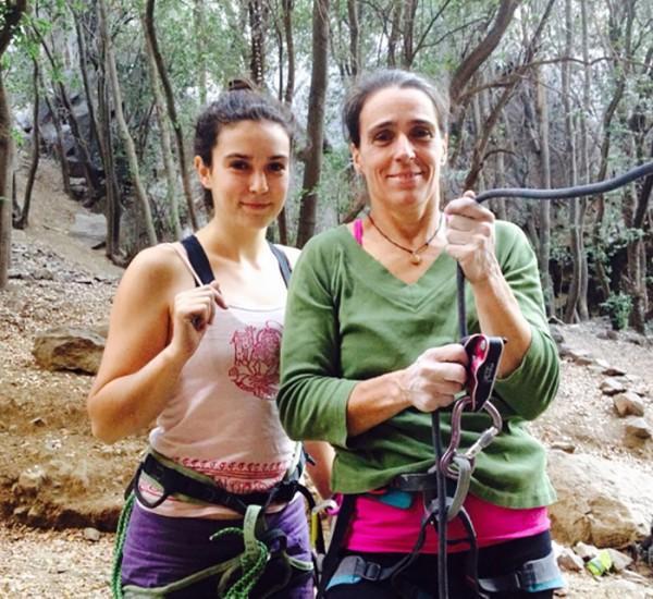 Sara Aylwin y Karla Kocking