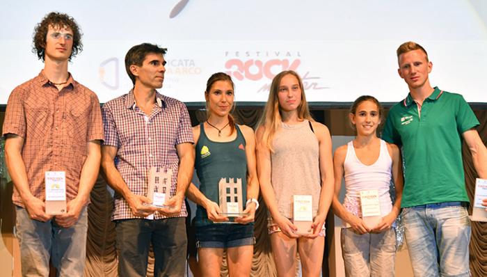 Los ganadores y nominados al premio.