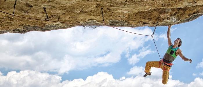 """Chris Sharma: """"Por supuesto, la escalada es un deporte mental"""". Foto: Climbing.com"""